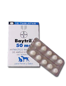 BAYTRIL TABLETAS 50mg